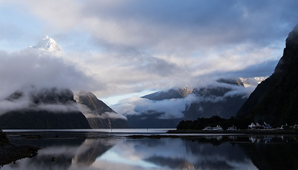 Gorgeous Milford Sound morning