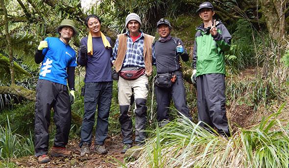 It's a wrap: Kami, Ida-san, Thomas, Haruki-san & Hongo-san