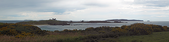 Views of Paterson Inlet and Fovaux Strait from The Neck