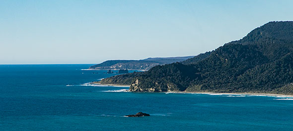 There be tawaki - remote coastlines of South Westland